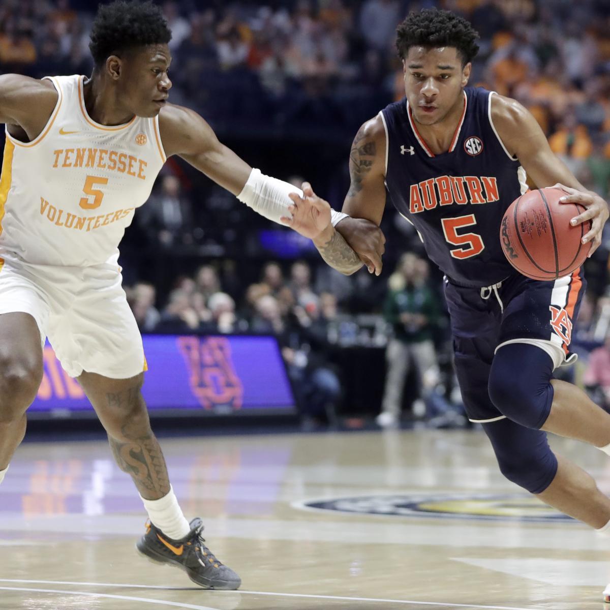 No. 22 Auburn Dominates No. 8 Tennessee to Win 2019 SEC ...