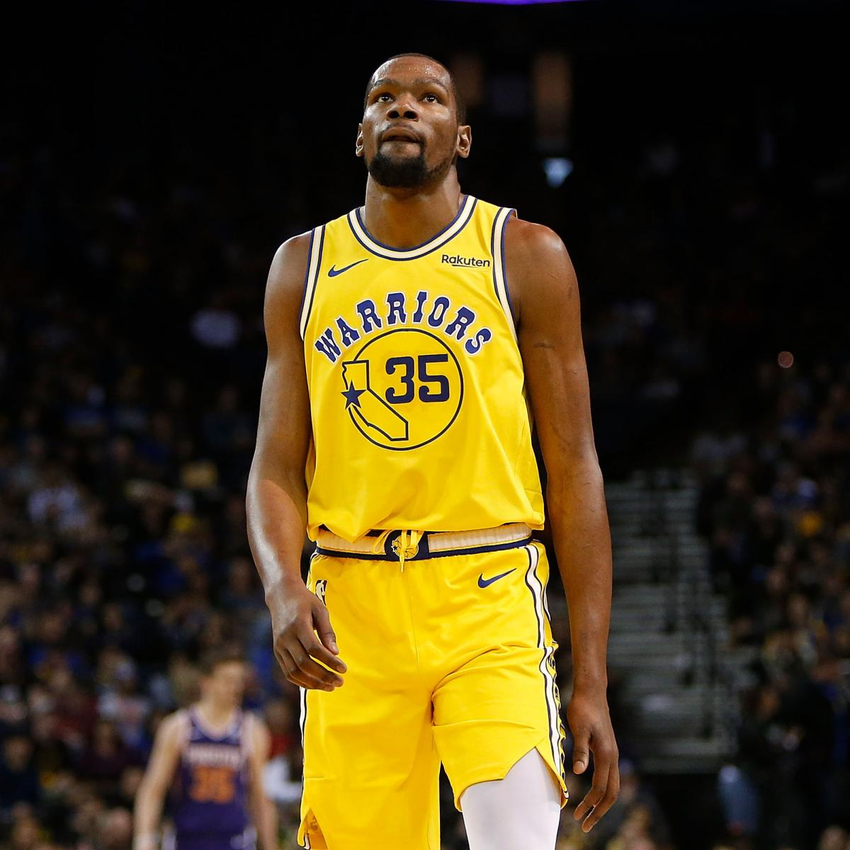 Rockets Vs Warriors Durant: Kevin Durant Limps To Locker Room With Calf Injury Vs