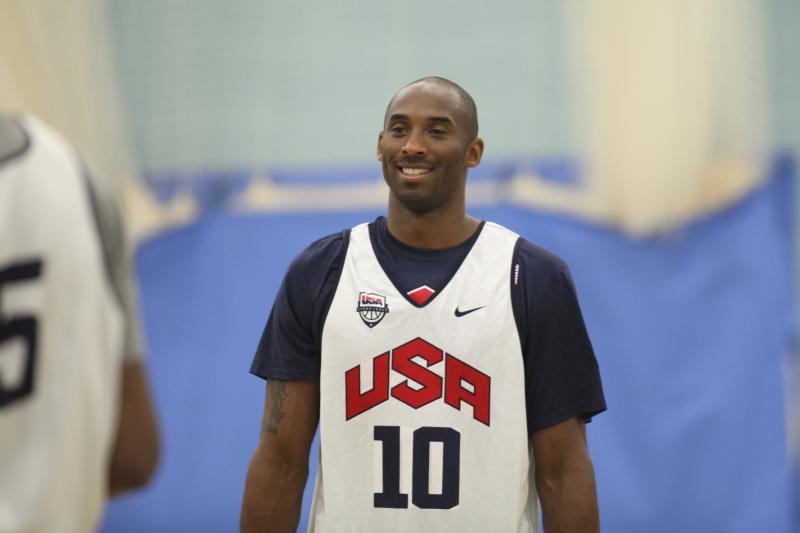 Kobe Bryant Names His All-Time Team USA Starting 5, Including Michael Jordan