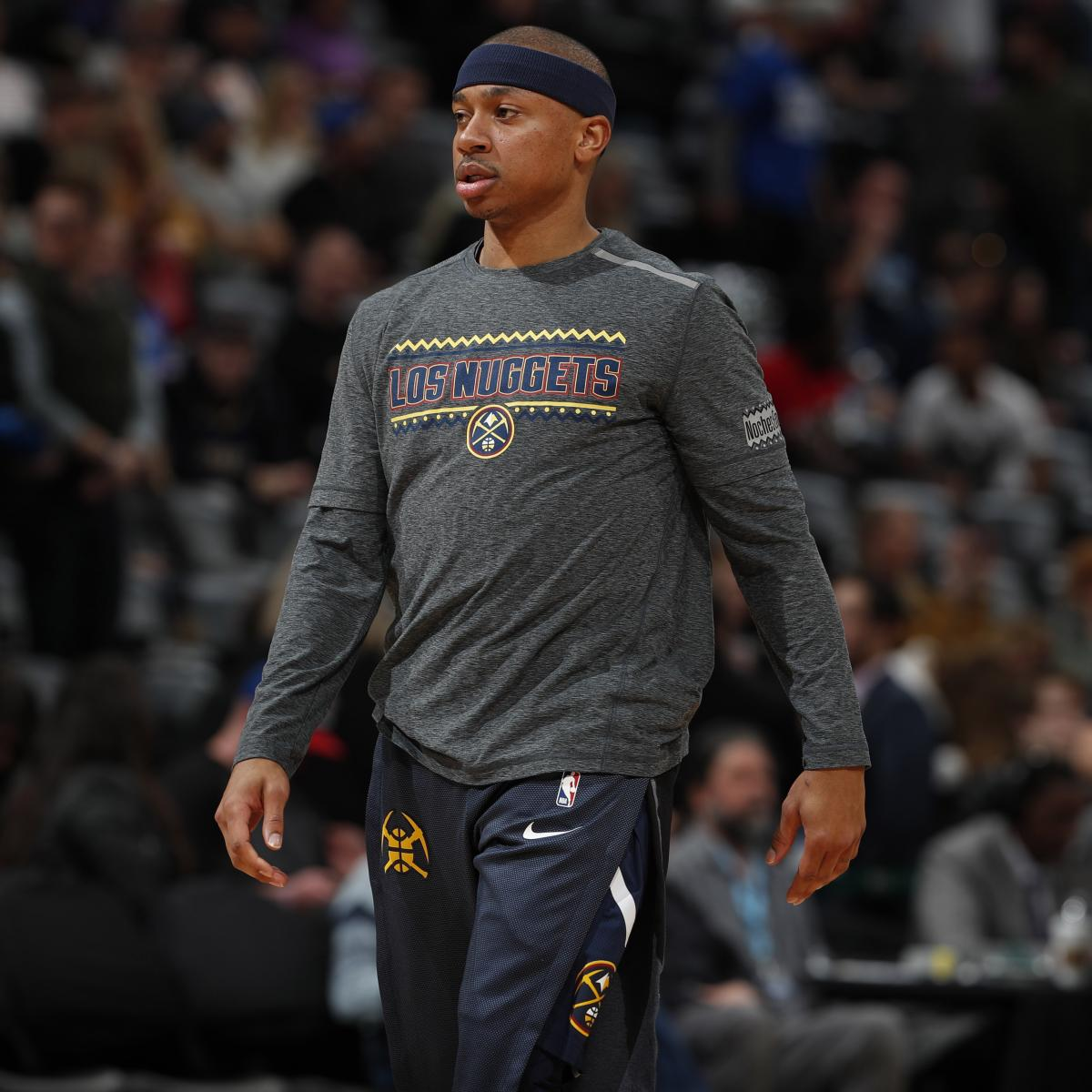 Watch Nuggets' Isaiah Thomas Get Ovation From Celtics