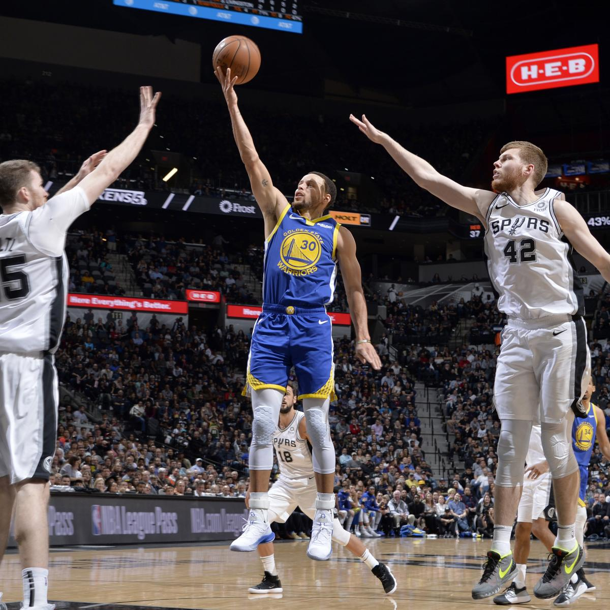 The San Antonio Spurs continued their ascent up the Western Conference standings with a 111-105 victory over the Golden State Warriors in a potential playoff preview Monday at AT&T Center...