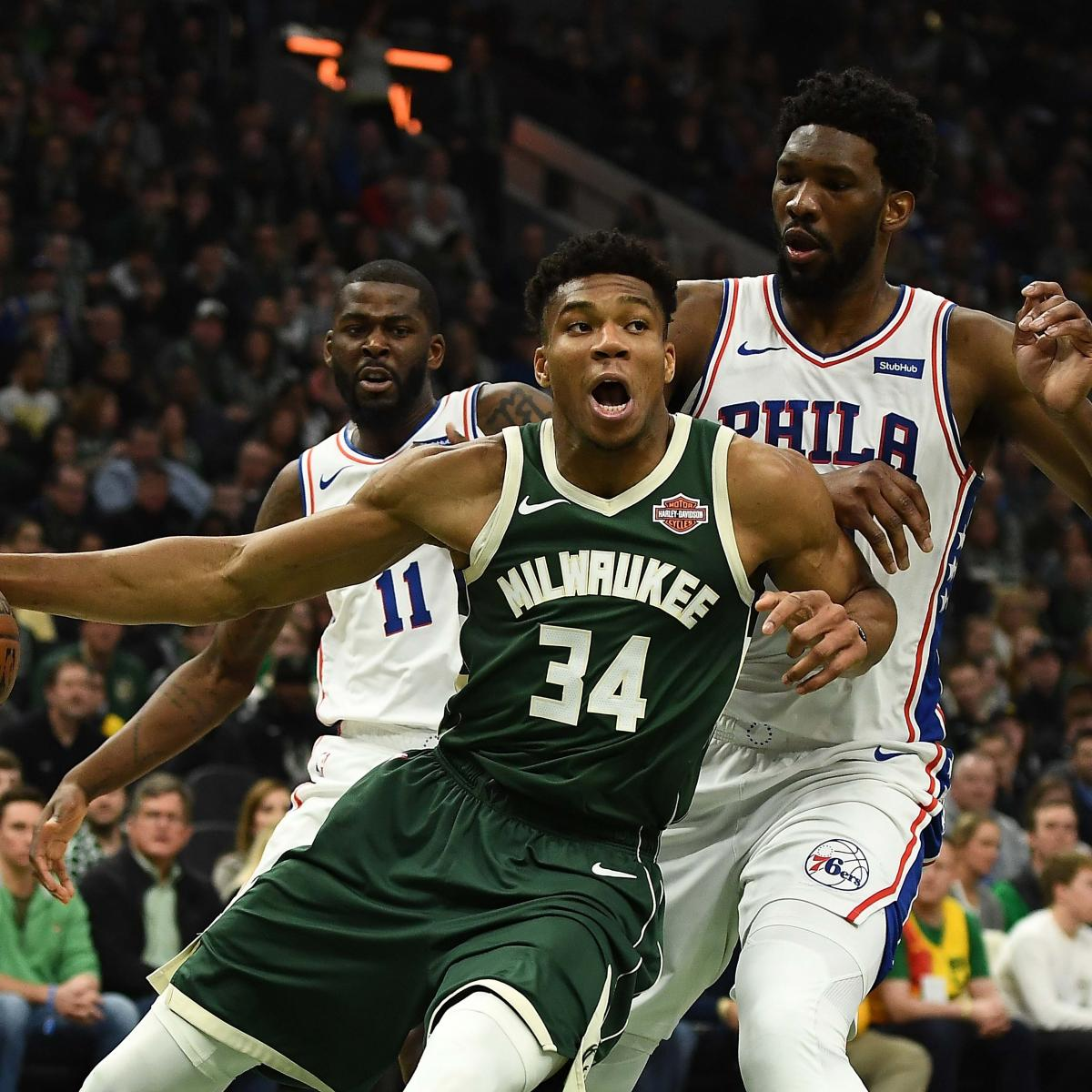 NBA Playoff Standings 2019: Updated Team Records, Seedings