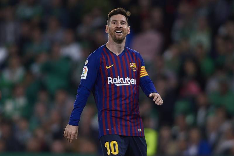 dc79d4bc1f9 Barcelona Star Lionel Messi Is the  Best Player in History
