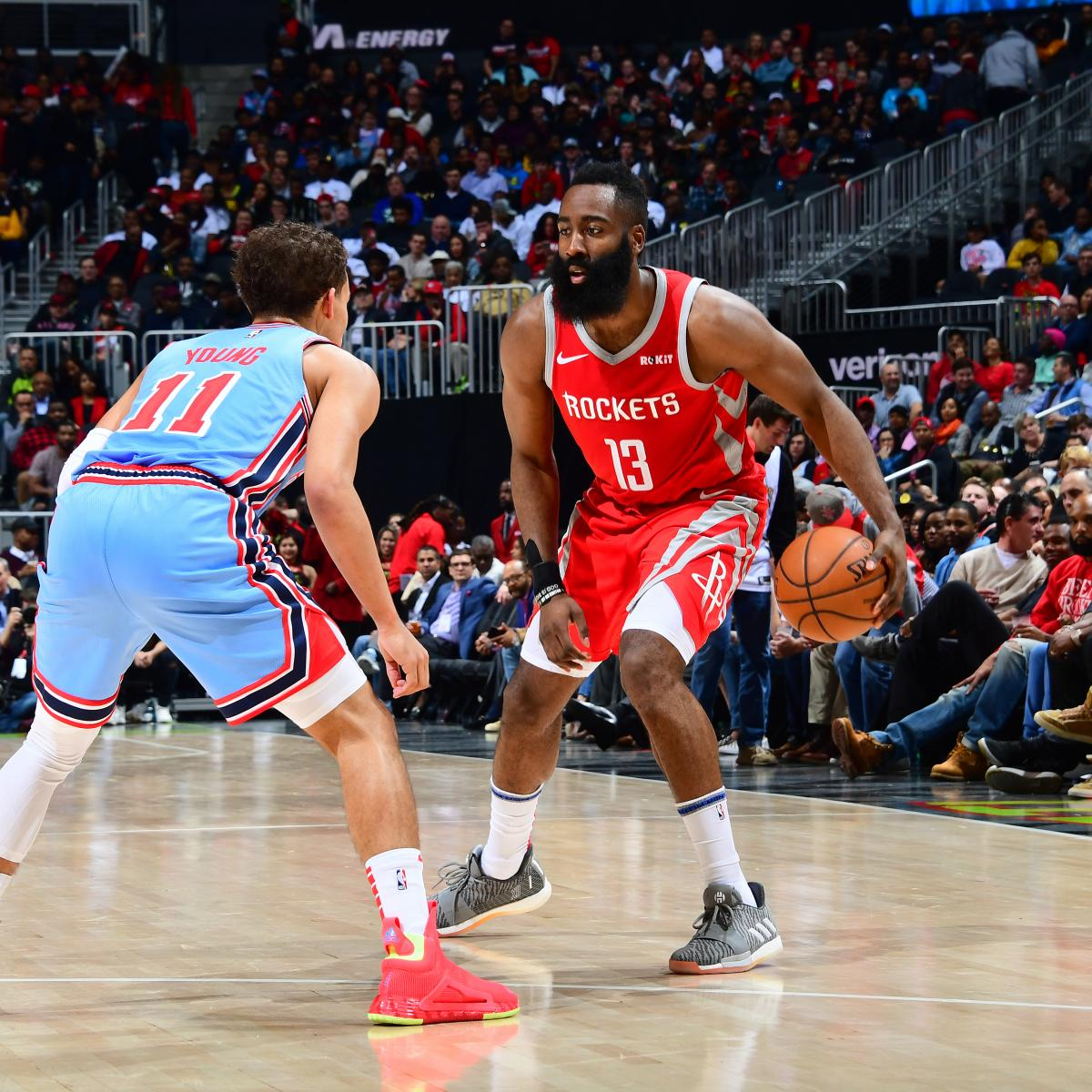 James Harden And Stephen Curry: James Harden Passes Stephen Curry For Most 3-Point Shot