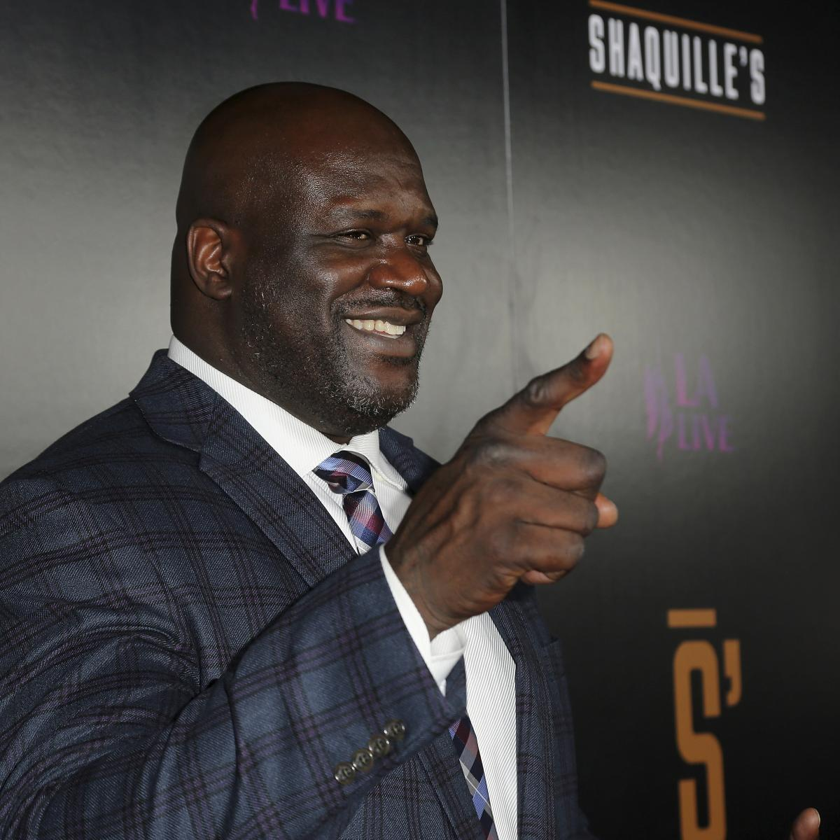 Shaquille O'Neal will DJ at Lollapalooza