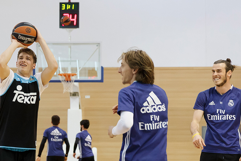 half off 8c164 a3aa1 Luka Doncic's Love Affair with Soccer and Real Madrid ...