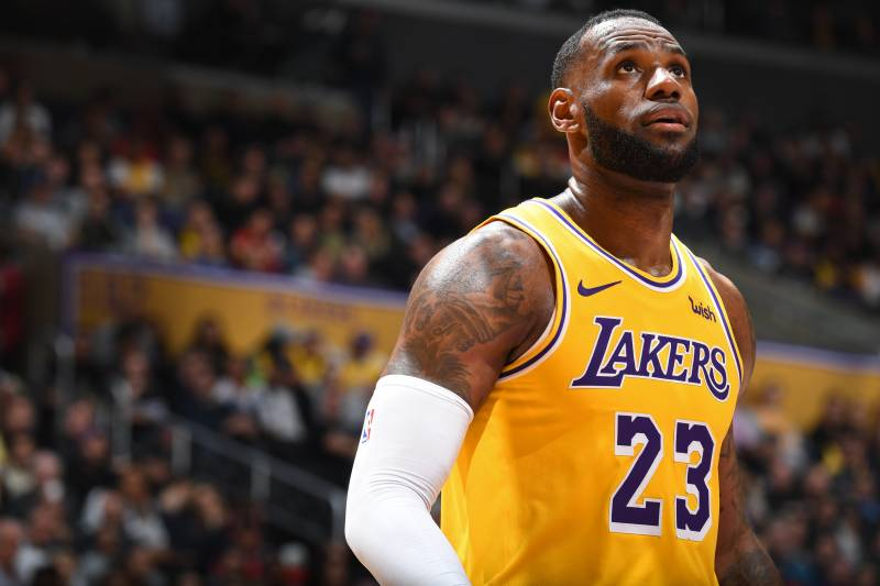 4bc527135090 Lakers Rumors  LeBron James  Will Never  Wear Clippers Jersey ...