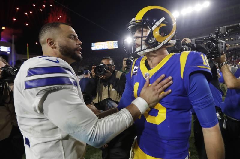 ede6d541745 Los Angeles Rams quarterback Jared Goff
