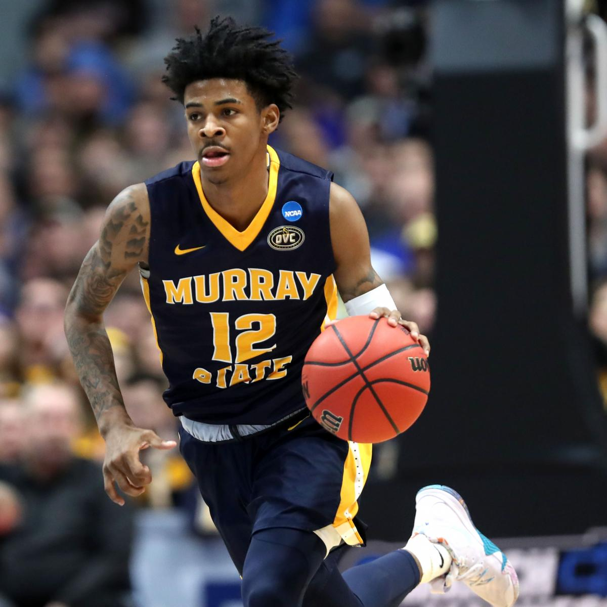 Epic Workout Monster Highlights: Watch Ja Morant Throw Down Monster 2-Handed Slam Over