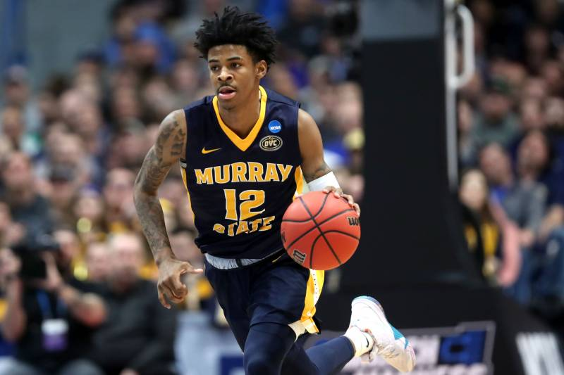 san francisco a9e06 b12ec Highlights: Watch Ja Morant's Top Plays from Triple-Double ...