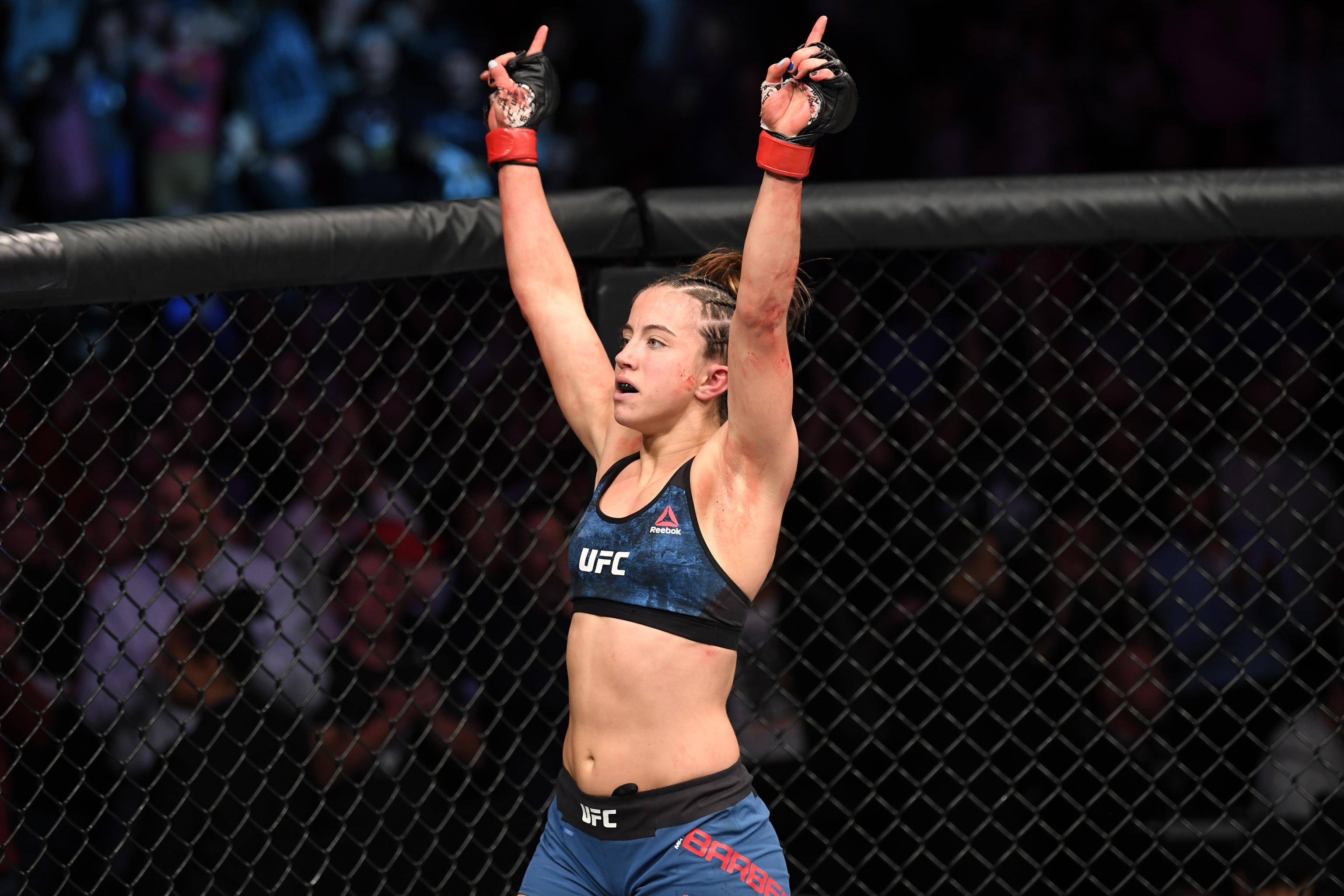 Female fighters ufc Top 10