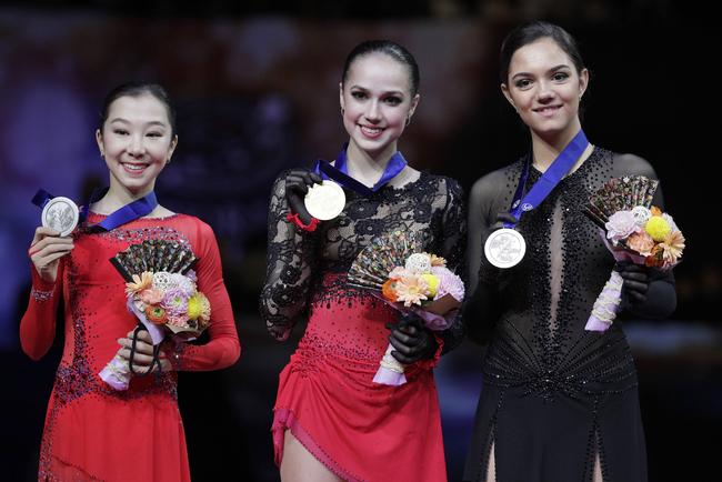 Alina Zagitova Takes Ladies Gold at World Figure Skating Championships 2019