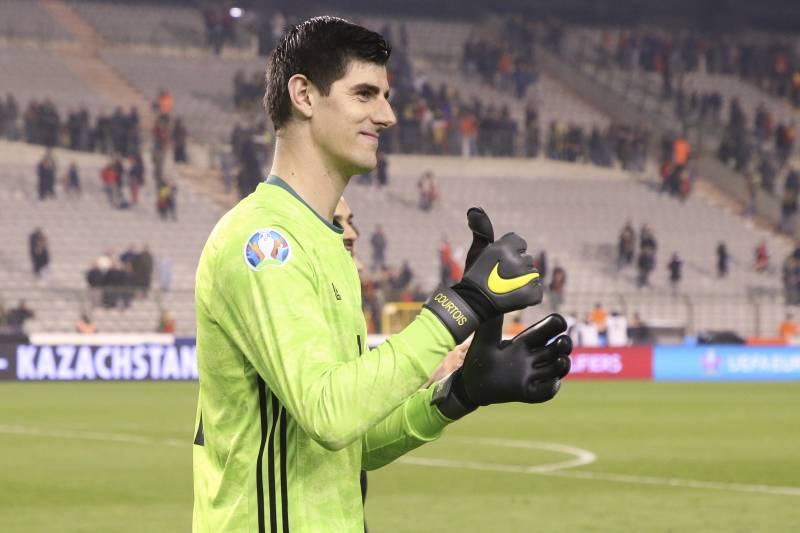 many fashionable super specials top design Thibaut Courtois Says He's 'One of the Best' Amid Criticism ...
