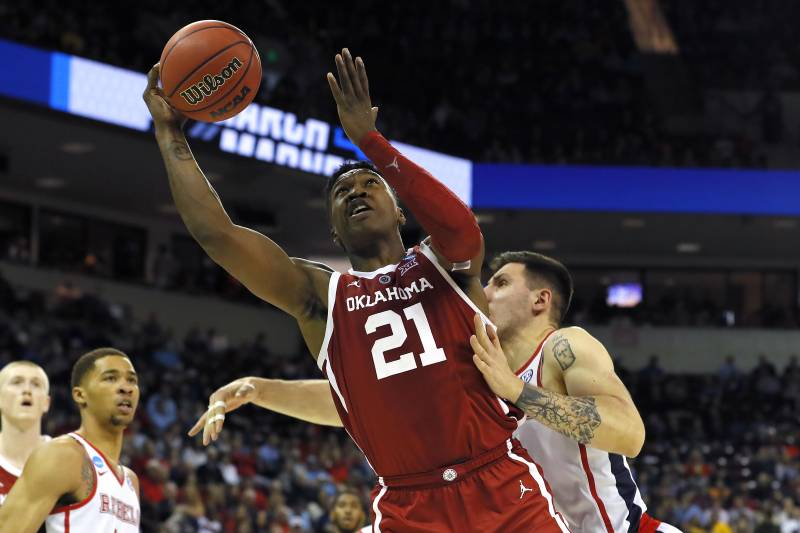104bde8764b No. 9 Oklahoma Destroys No. 8 Ole Miss 95-72 to Advance in 2019 NCAA  Tournament