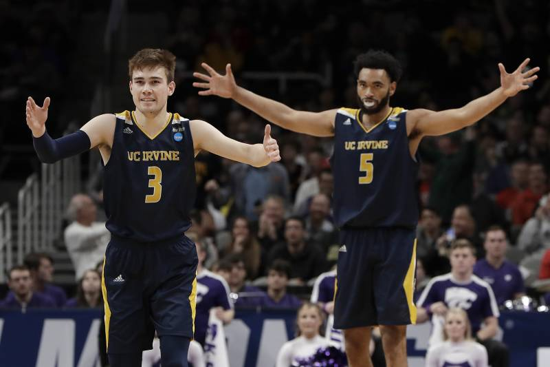 54a73b6a114 No. 13 UC Irvine Stuns No. 4 Kansas State in Upset to Advance in NCAA  Tournament