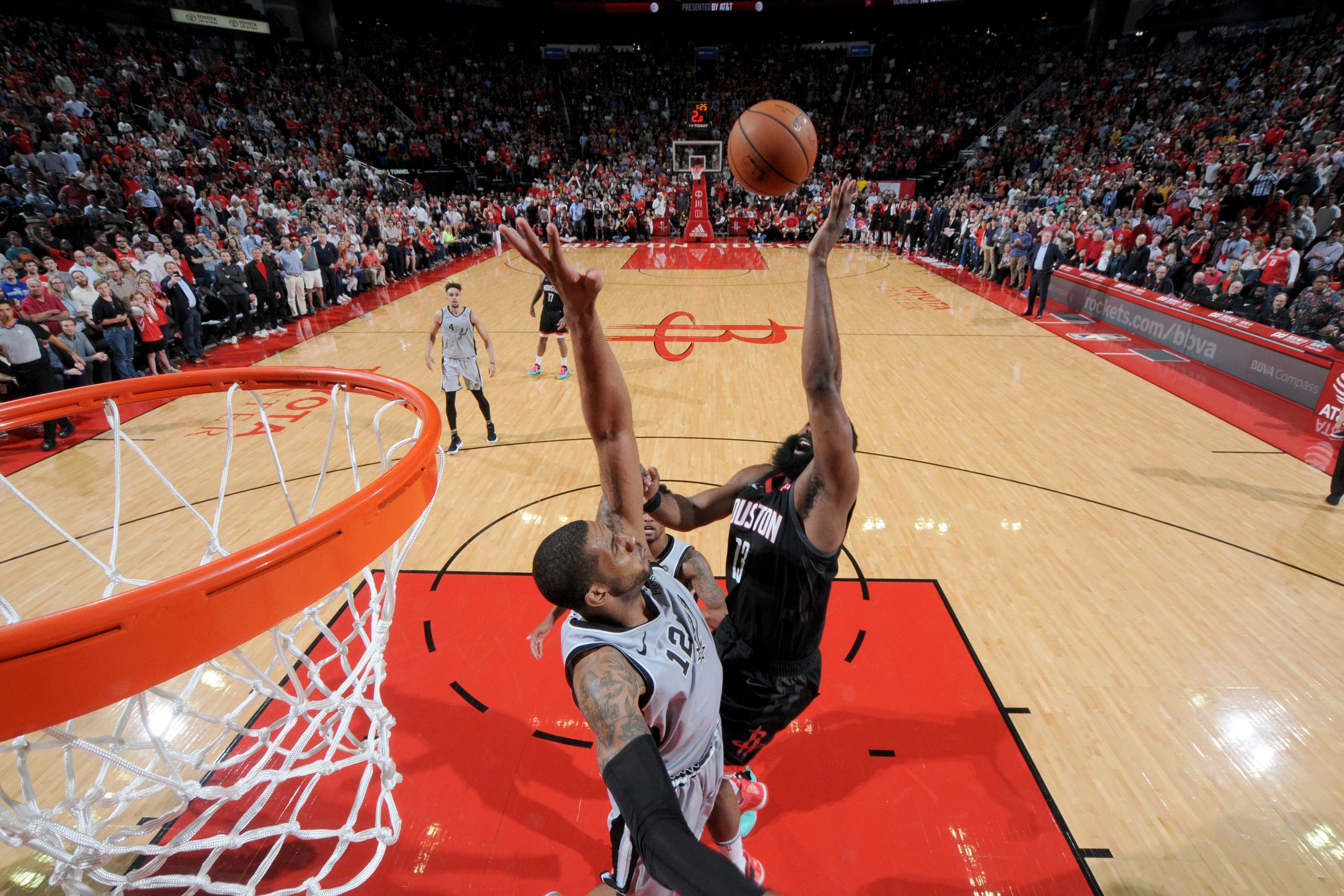 f5b3171474c5 Highlights  Watch James Harden Erupt for 61 Points in Rockets Win over Spurs