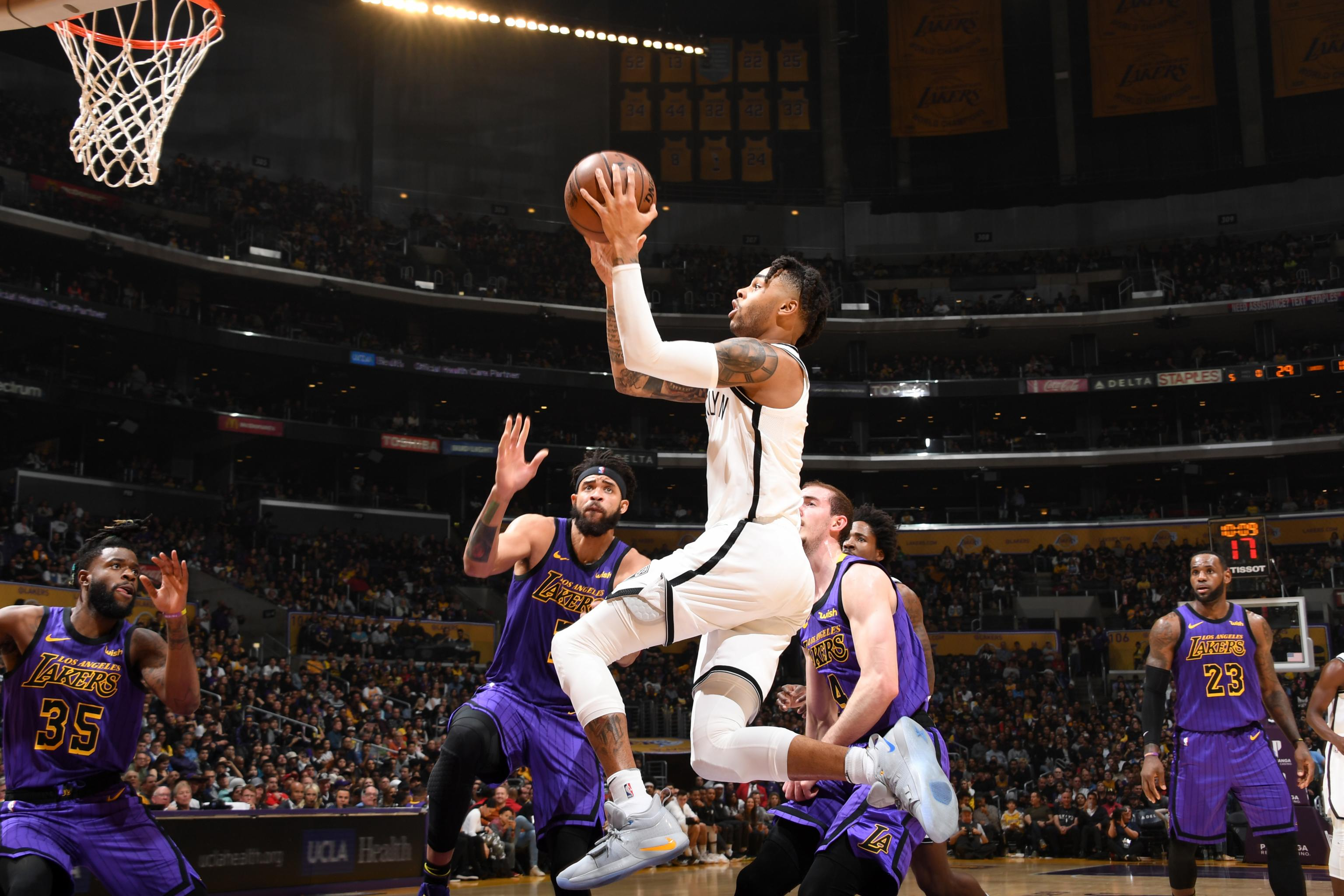79f5a9b7f19d Flipboard  Nets eliminate Lakers from postseason contention