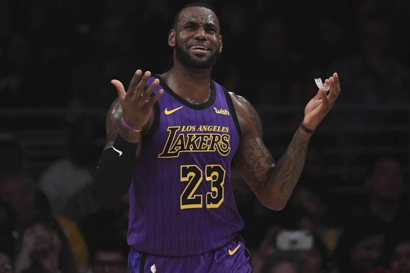 51266a58b LeBron James  Lakers Missing Playoffs  Not What We Signed Up For ...