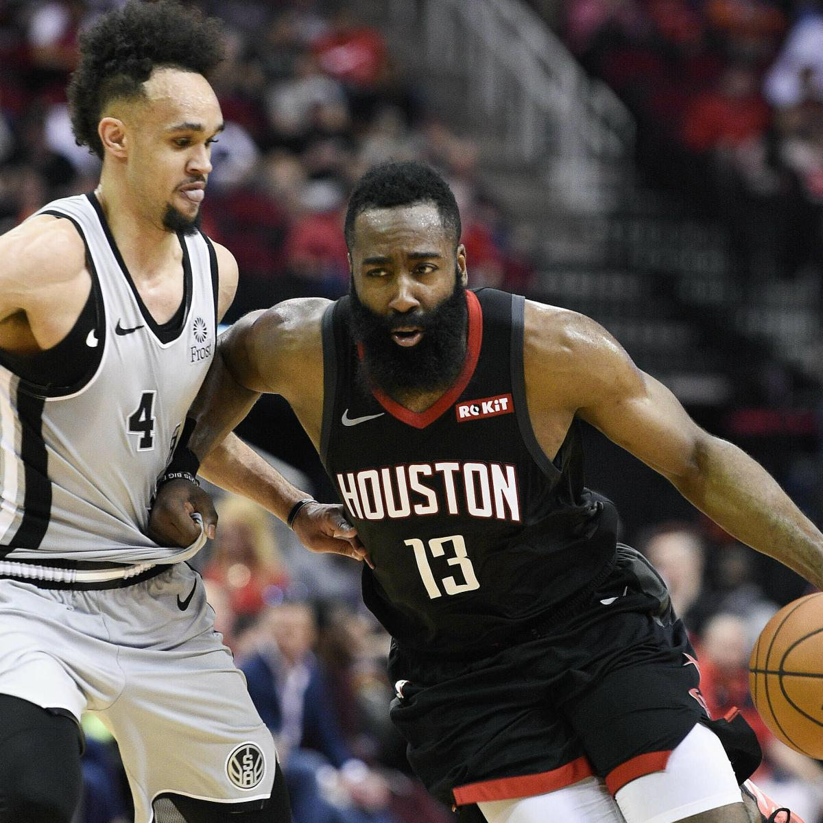 James Harden Rockets: Rockets' James Harden On Load Management: 'What Is That? I