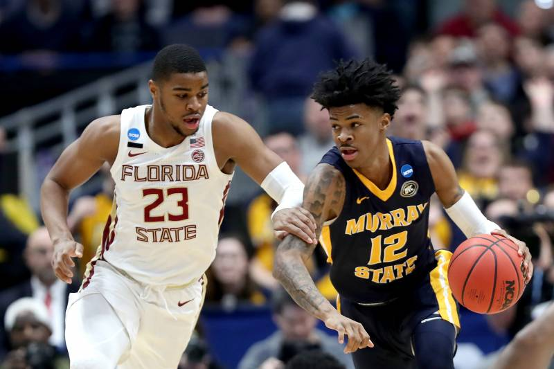 7d678bfd78a No. 4 FSU Advances to Sweet 16 over No. 12 Murray State  Ja Morant ...