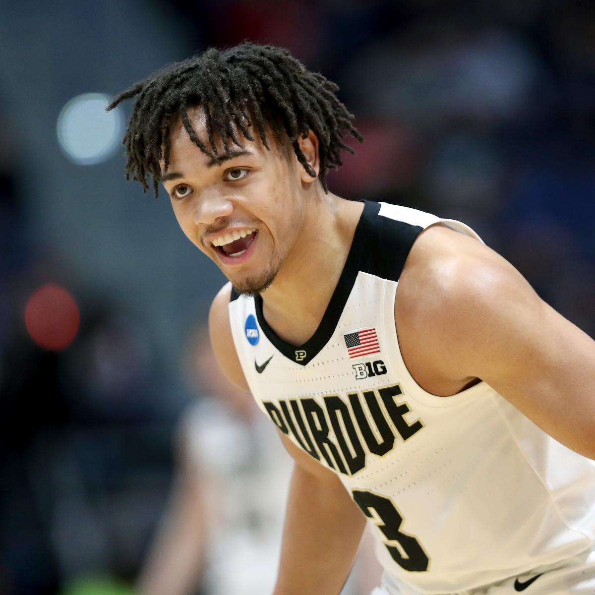 No. 3 Purdue takes down defending champs