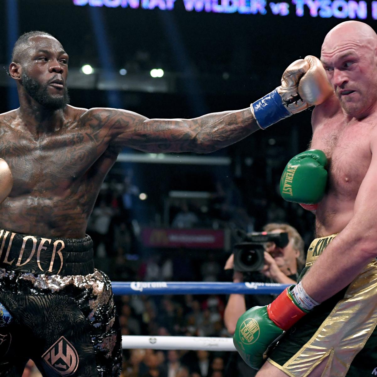 Tyson Fury Says Rematch With 'Nobody' Deontay Wilder Is