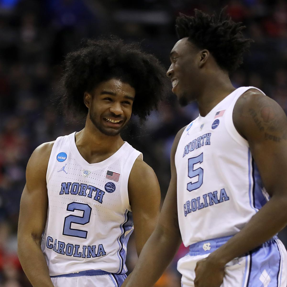 Video Watch Unc S Coby White Hit Nasty Step Back Corner 3