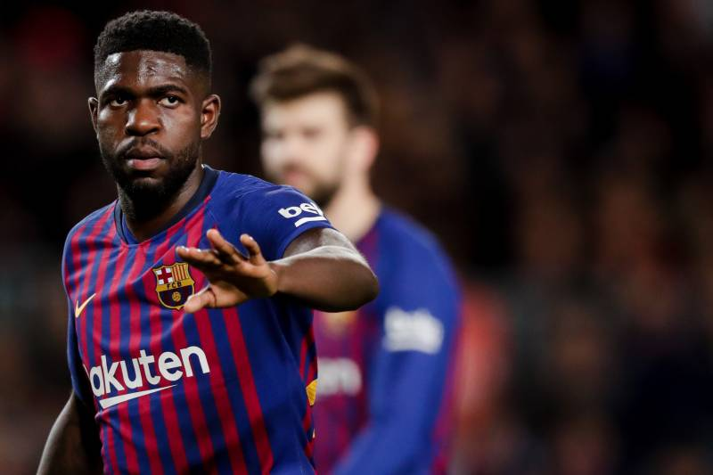 huge discount b85fd 58e51 Samuel Umtiti Says He Will Stay at Barcelona Amid Rumours ...