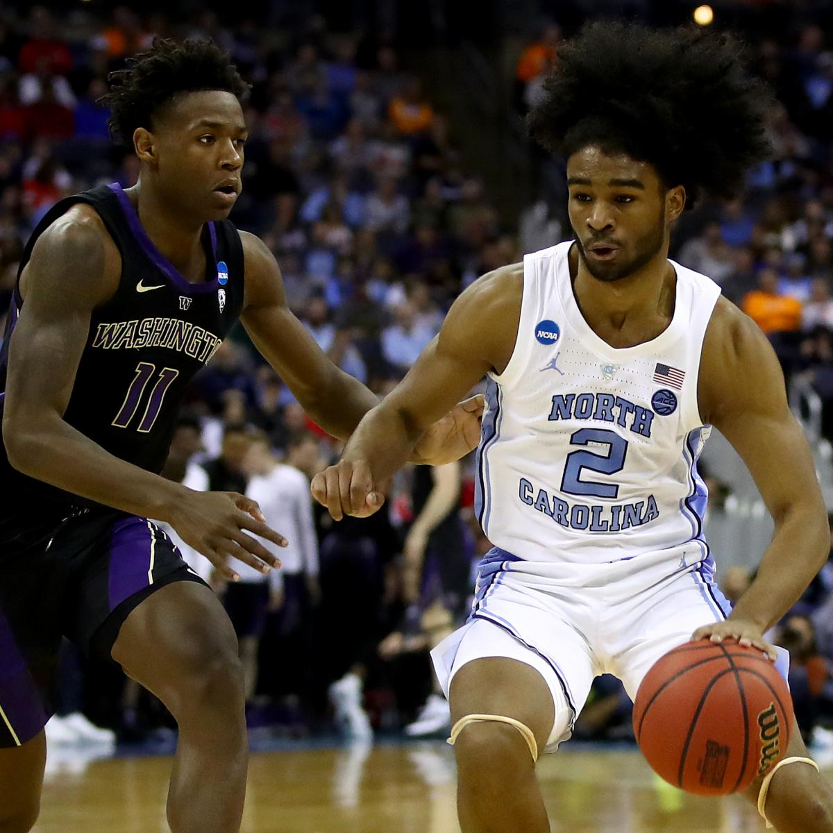 Coby White No 1 Unc To Play Auburn In Sweet 16 After Win
