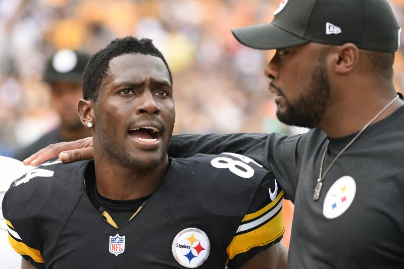 95a4dfbec Steelers  Mike Tomlin on Losing Antonio Brown   Can t Do This with ...
