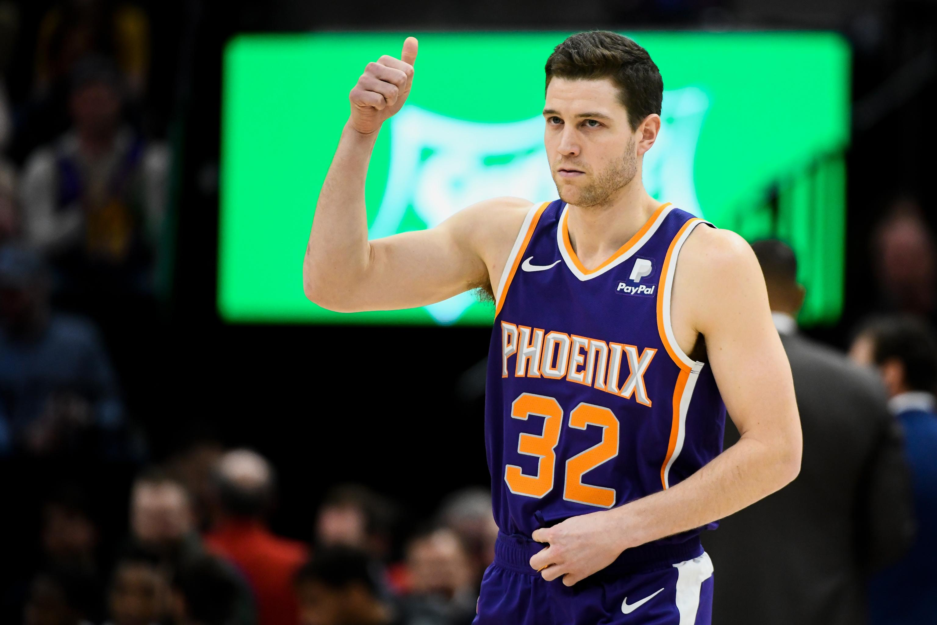 buy popular c9b39 66dc5 Video: Jimmer Fredette Gets Ovation from Jazz Crowd After ...