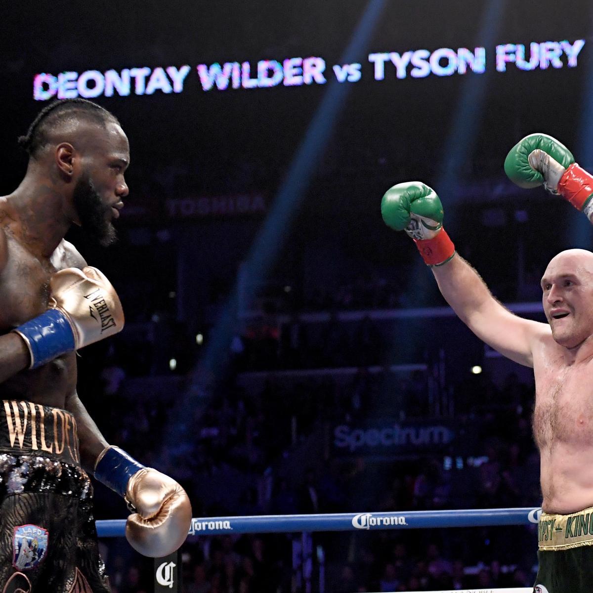 Deontay Wilder Thinks Tyson Fury Rematch 'Is Definitely