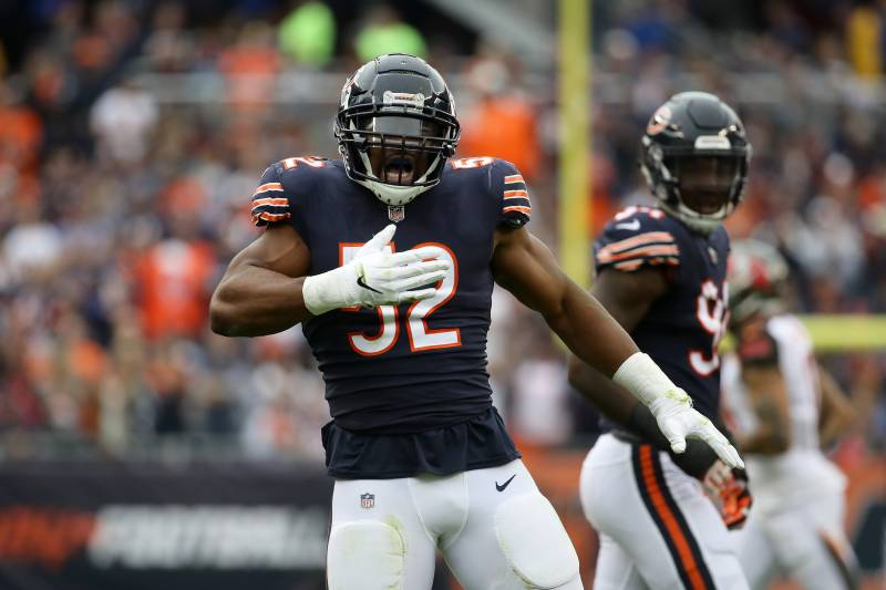 2019 Chicago Bears Schedule Full Listing Of Dates Times