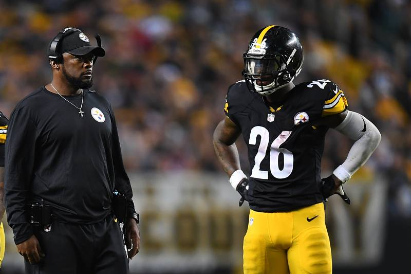 ead0b7b9f2c Mike Tomlin  Hopes  Le Veon Bell Improves Jets   You Guys Are Paying Him  Enough