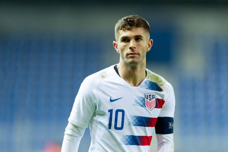 big sale fadd6 84109 Christian Pulisic Subbed Off with Quad Injury vs. Chile; Not ...