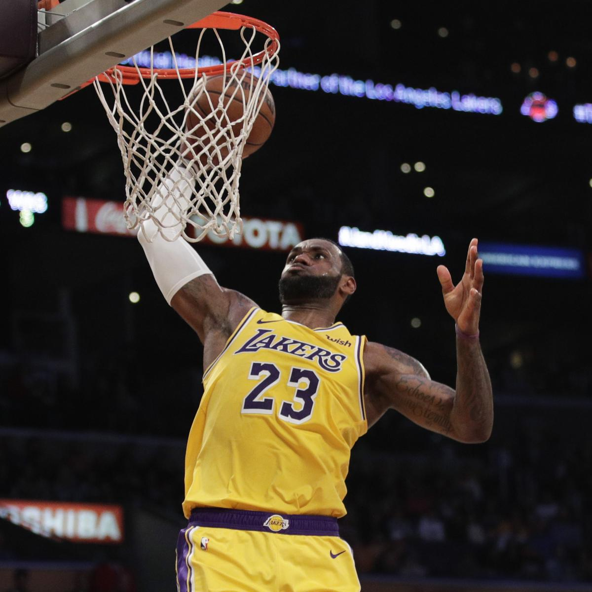LeBron James Leads Lakers to Easy Win vs. Bradley Beal ...