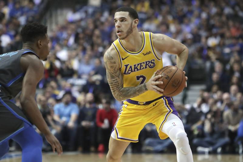 1897fde12a2 Lonzo Ball Has Big Baller Brand Tattoo Covered Up by Pair of Dice ...
