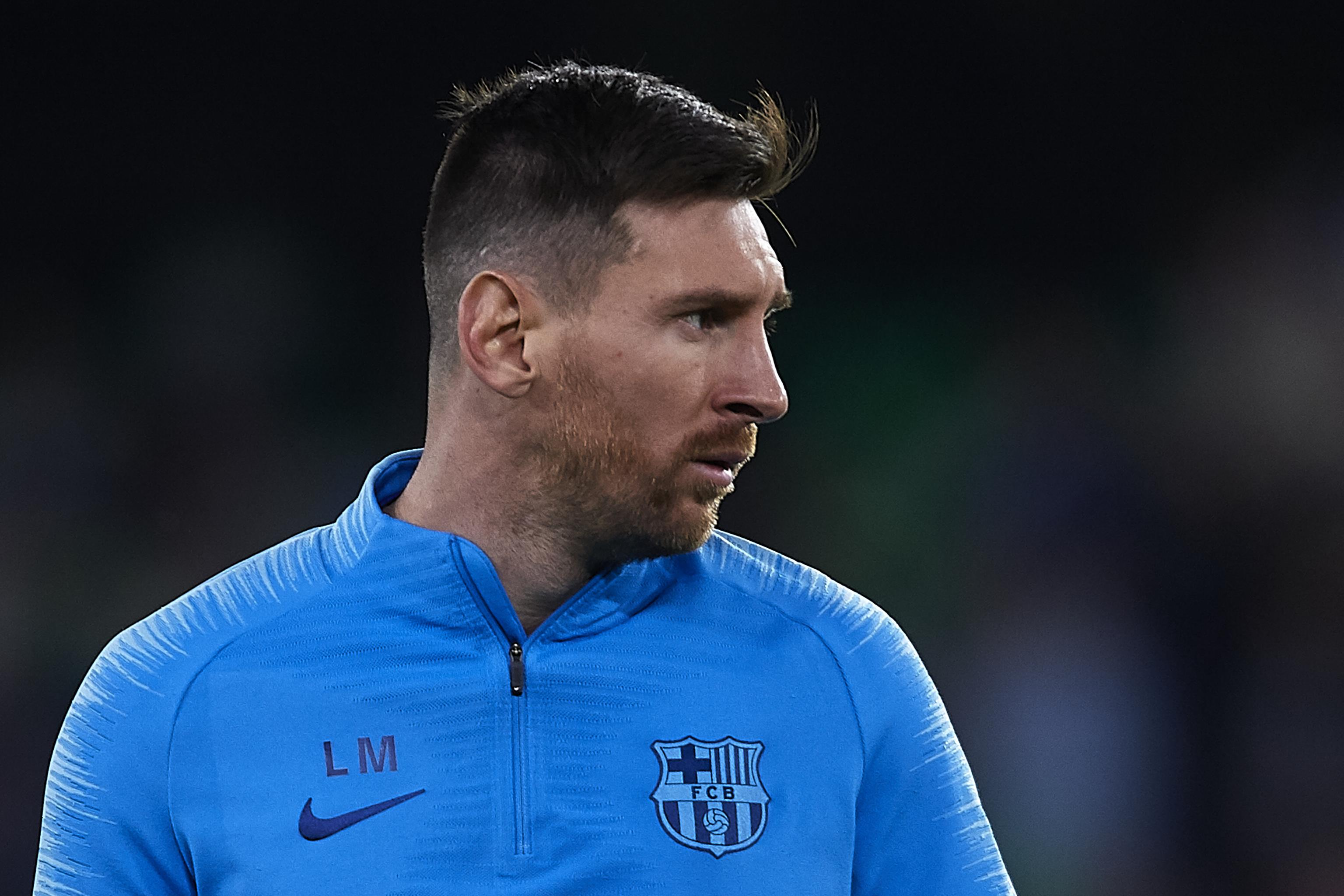 Lionel Messi Returns To Barcelona Training After Suffering Groin Injury Bleacher Report Latest News Videos And Highlights