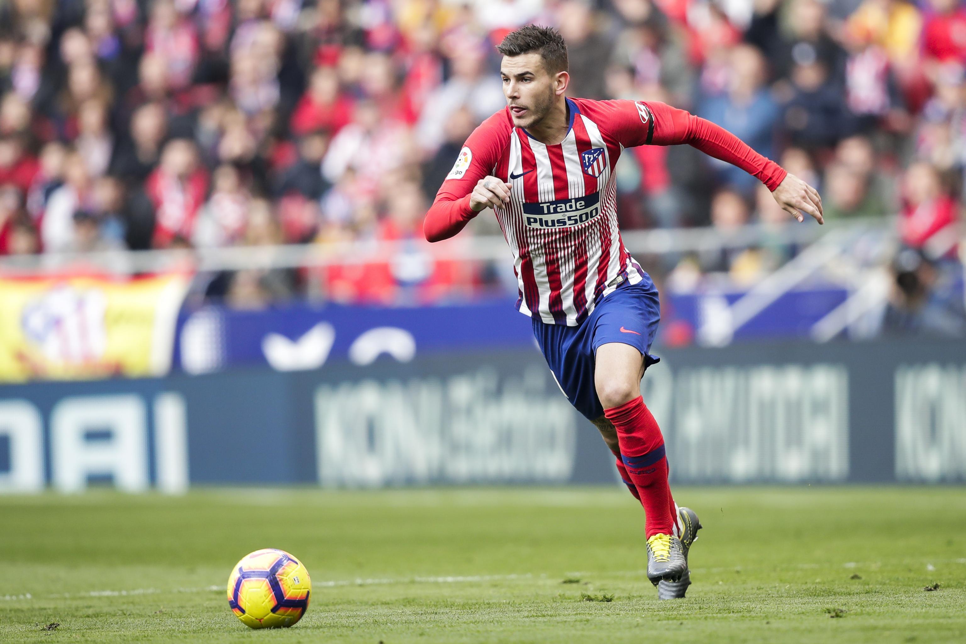 Lucas Hernández ještě ve službách Atlética Madrid