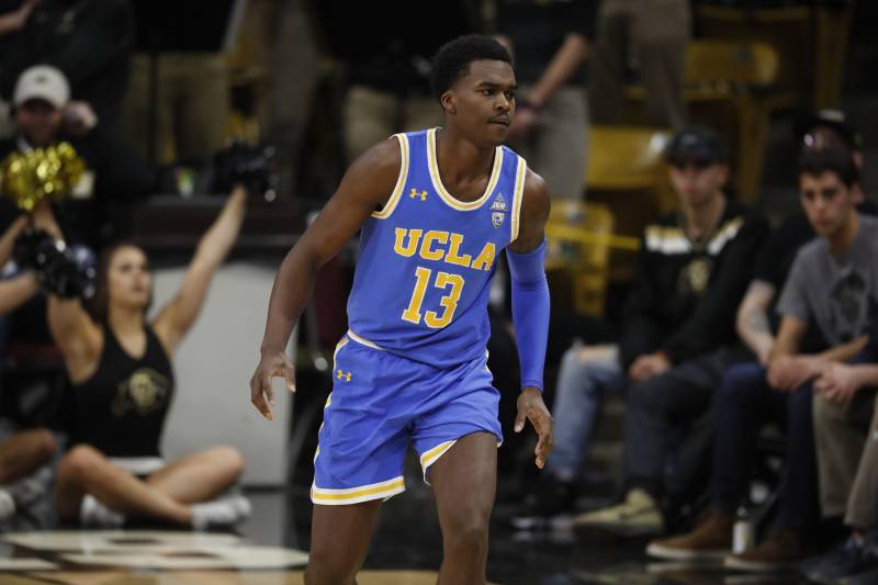 654117b79 UCLA Bruins guard Kris Wilkes (13) in the first half of an NCAA college