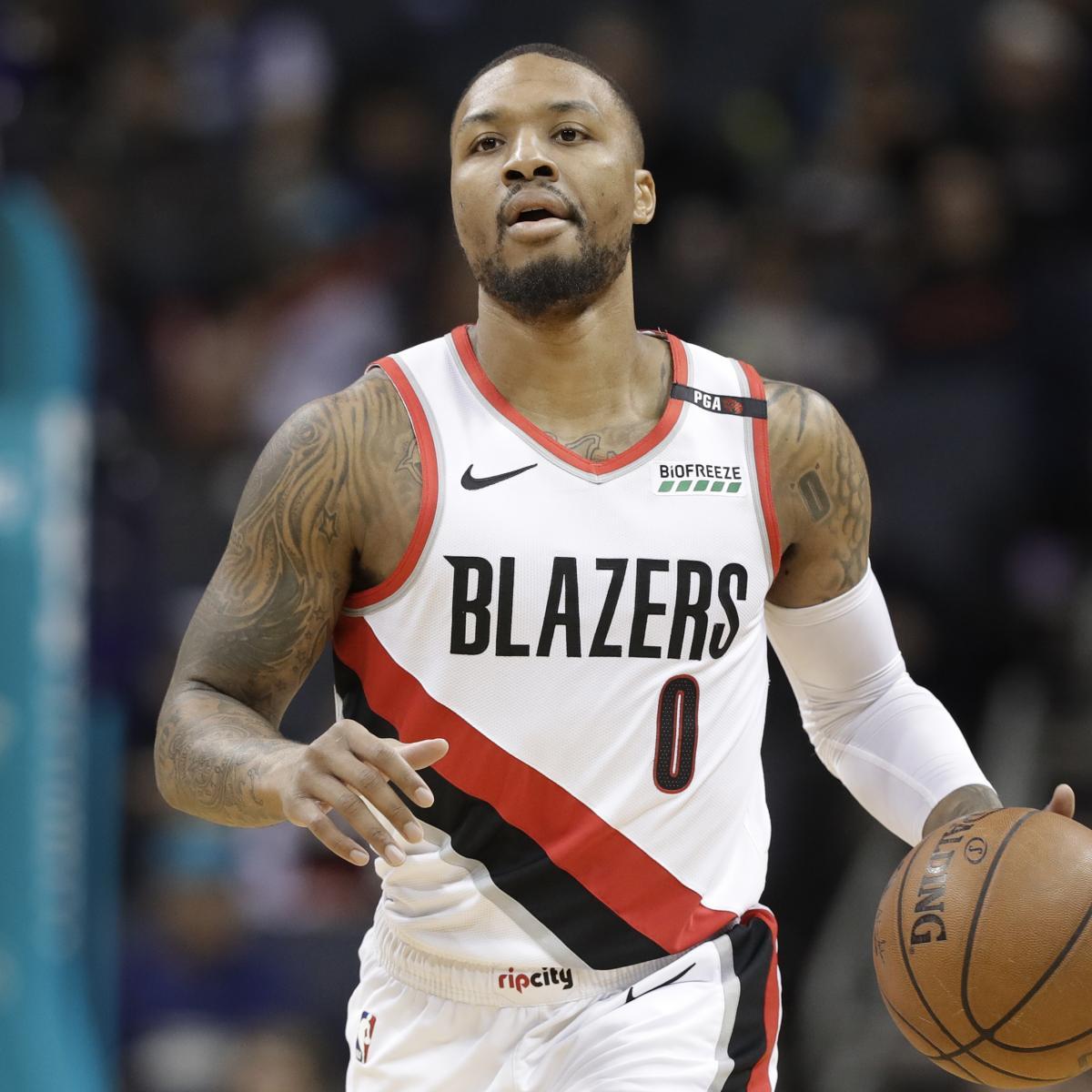 Portland Trail Blazers Contracts: NBA Rumors: Damian Lillard Interested In Supermax Contract
