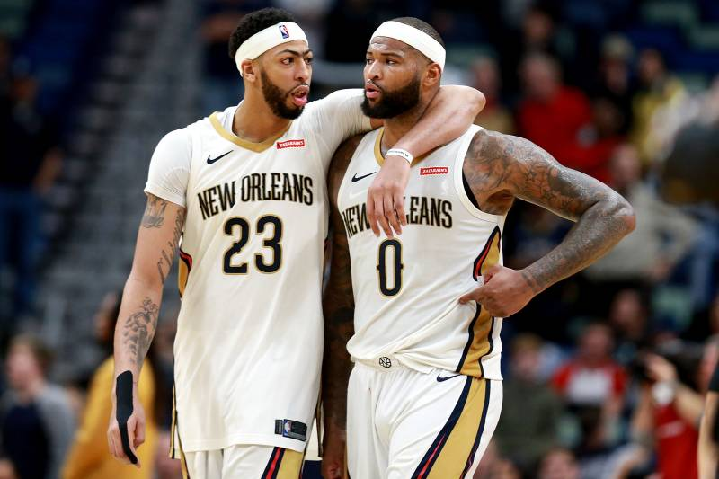 buy online ffcd0 627af DeMarcus Cousins on If He Knew Anthony Davis Would Request ...