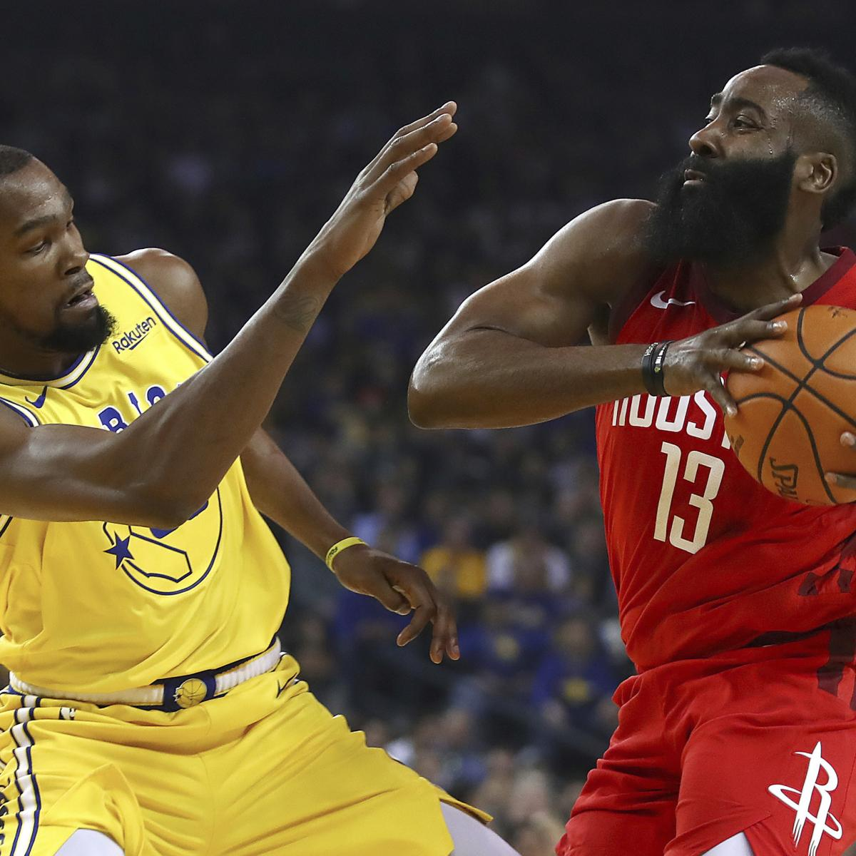 NBA Playoff Picture 2019: Updated Bracket, Standings and ...