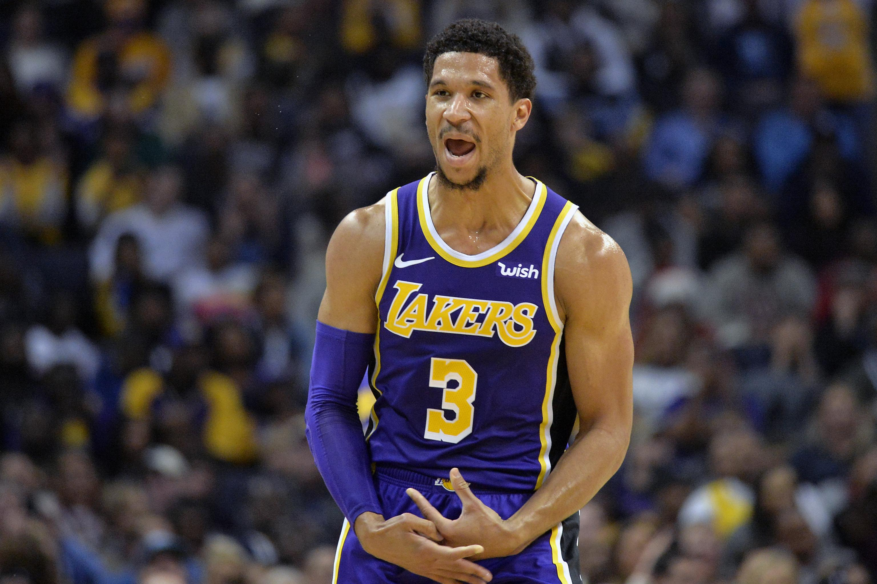 pretty nice 74eca 9336f Lakers News: Josh Hart Undergoes Knee Surgery; Out for 12 ...