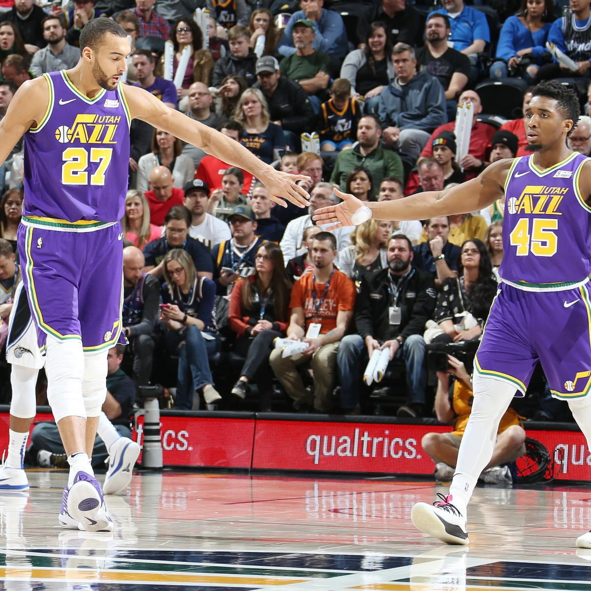 Jazz Clinch 2019 NBA Playoffs After Kings Lose To Pelicans