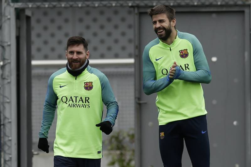 ce6ff2922e8 Gerard Pique Says Lionel Messi Is One of the  Biggest Trolls  He ...