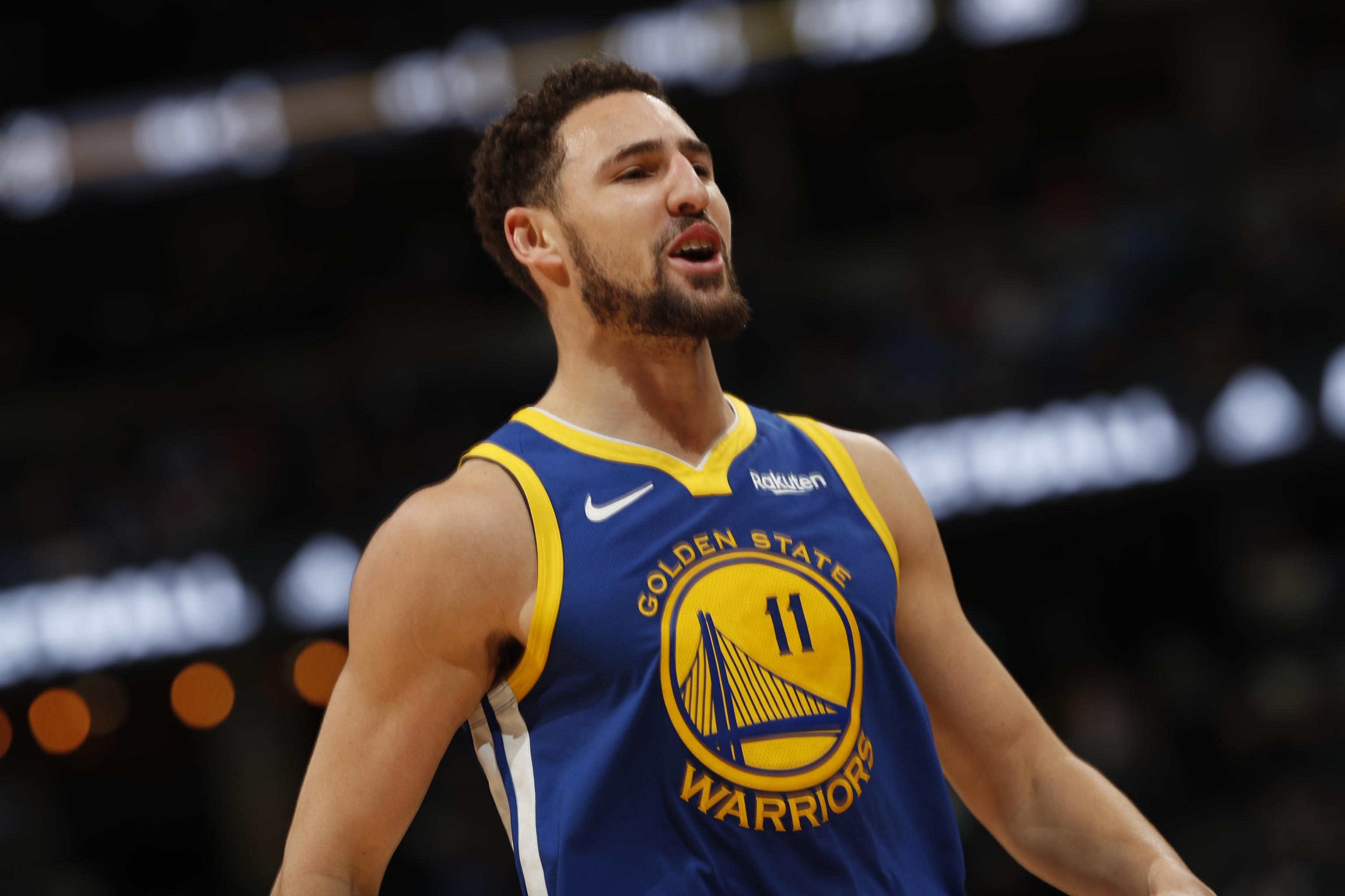 7f1155eefa88 Warriors  Klay Thompson to Play in Game 1 vs. Rockets After MRI on Ankle  Injury