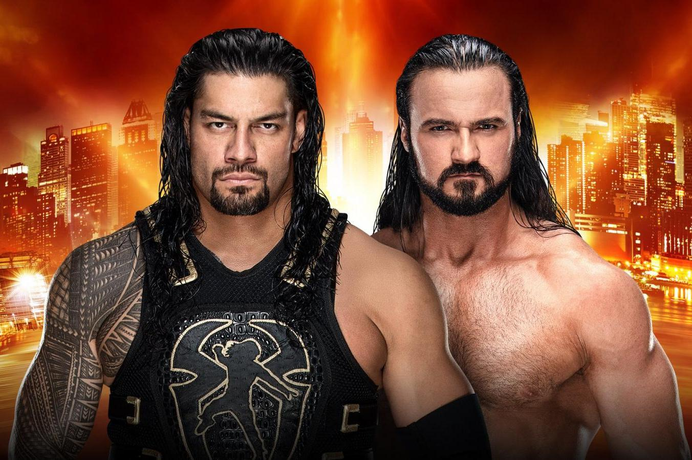Roman Reigns Defeats Drew McIntyre Via Spear at WWE WrestleMania 2019 |  Bleacher Report | Latest News, Videos and Highlights