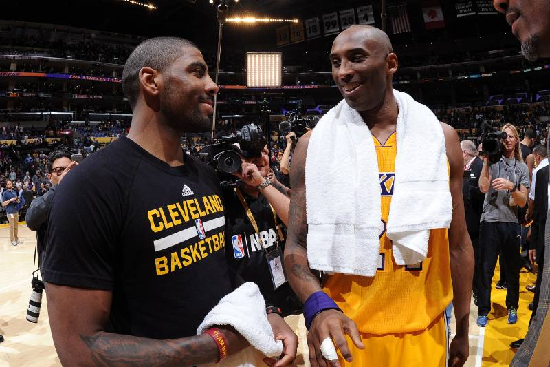603c253e242 Kobe Bryant Says Kyrie Irving Has to Emotionally Connect with Supporting  Cast