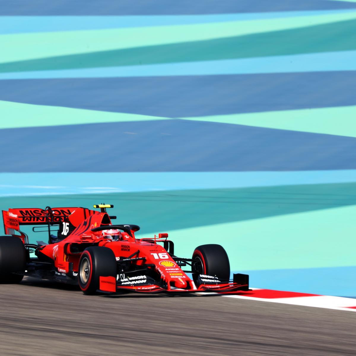 Bahrain F1 Grand Prix 2019 Qualifying: Saturday's Results